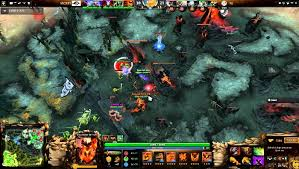 report my team examining systems of interaction in dota 2