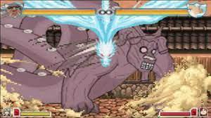 Gotei 13 Captains vs Killer B   Bleach vs Naruto 2.6