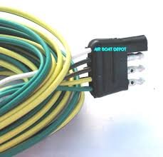 4 flat wiring harness not lossing wiring diagram • wb 002235 wesbar wishbone trailer wiring harness 4 way flat 18 ga rh airboatdepot com towed