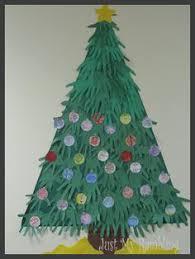 Classroom DIY DIY Paperstrip Christmas TreesClassroom Christmas Tree