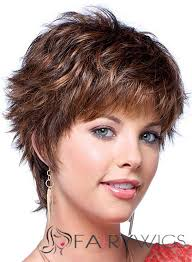 New Short Hairstyles 7 Awesome New Short Wavy Brown Human Hair Wigs My Style Pinterest Short