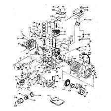 tecumseh tecumseh 4 cycle engine parts model h3545509n sears basic engine