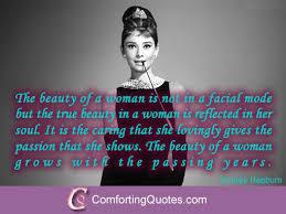 Audrey Hepburn Quotes On Beauty Best of Audrey Hepburn Quote About Beauty Of A Woman Image Saying