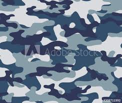 Blue camo wallpaper (47+ images). Blue Army Camouflage Seamless Print Pattern Wall Mural Wallpaper Murals Sanvel