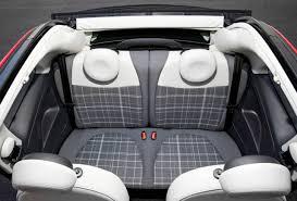 fiat 500x interior back. 2016 fiat 500rear seats 500x interior back