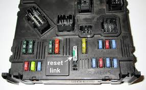 peugeot 1007 fuses fusebox if your car won t start or the doors won t work even after a reset try removing the link hs or sh in the bsi for 15 minutes and then replace it