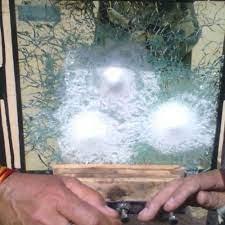 transpa plain bulletproof window
