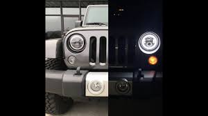 no wire lighting. NO WIRE CUTTING?????? How To Install LED Halo Lights With DRL (Jeep JK) No Wire Lighting