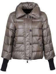Women Moncler TULSA Black Down Jackets in Light Grey,moncler on sale,popular  stores