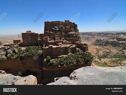 ✅ Ruin Of Ancient Fortress In Yemen image & stock photo. 260045167
