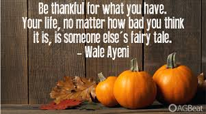 Thanksgiving Inspirational Quotes