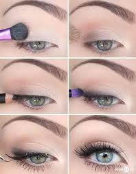 natural eye makeup for brown eyes via