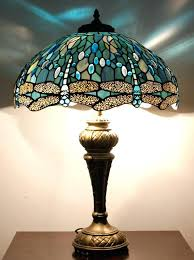 dragonfly stained glass lamps floor lamps style floor lamp antique floor lamps blue glass lamp shade