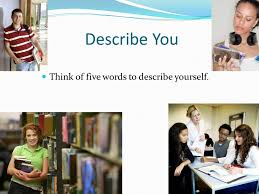 five words to describe you creating a healthy you ppt video online download