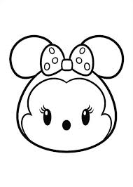 27 Coloring Pages Of Tsum Tsum ツムツムぬりえ ディズニーの塗り絵