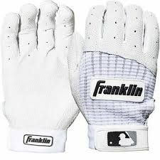 Batting Glove Size Chart Franklin Franklin Pro Classic Batting Gloves Adult Sizes White