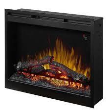 26 in electric firebox fireplace insert