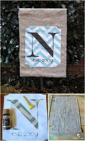 Small Picture 18 Adorable DIY Garden Flags for a Warm and Welcoming Home DIY