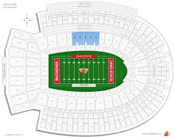 Ohio Stadium Concert Seating Chart Ohio Stadium Club Seating Football Seating Rateyourseats Com