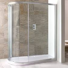 eastbrook volente sliding spacesaver quadrant shower enclosure shower tray