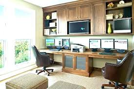 at home office desks. Home Office Ideas For Two 2 Person Desk Furniture Pertaining To Renovation At Desks R