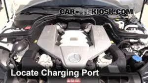 how to jumpstart a 2008 2015 mercedes benz c300 2009 mercedes Interior Fuse Box Location 20082013 Mercedesbenz C300 2009 2010 mercedes benz c63 amg 6 3l v8 air conditioner recharge freon