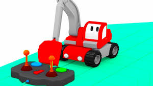 Tiny Trucks The Submarine Learn With Tiny Trucks Bulldozer Crane