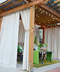 full size of gazebo curtains sunbrella ds outdoor mosquito netting panels privacy with grommets clear