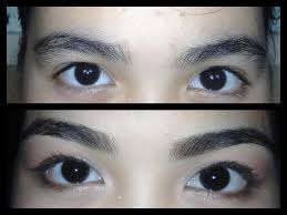 eyebrow razor before and after. eyebrow razor before and after t