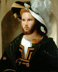 girolamo romanino portrait of a man in a splendid hat c 1515 17 renaissance art men portraits renaissance and 16th century