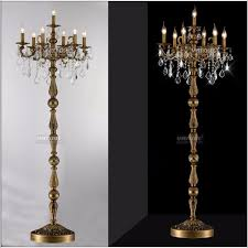 best and est floor lamps classic 7 lights crystal lamp within candelabra remodel 11