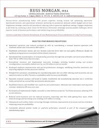 Operations Manager Resume Sample Manufacturing Operations General Manager Resume Sharon Graham