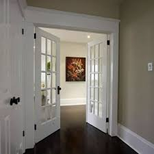 double doors with glass ornaments 25 white interior doors ideas for your interior design