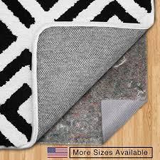 gorilla grip 8 x 10 feet felt and rubber non slip rug pad for