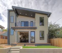 exterior of modern house on zillow