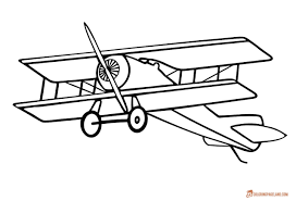 You can print or color them online at. Airplane Coloring Pages Free Printable B W Pictures