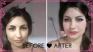 best free virtual makeover program and phone app youcam makeup taaz before after pictures