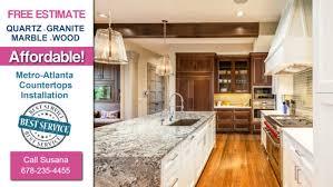 atlanta quartz countertops kitchen granite remodels