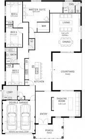 5 bedroom floor plans. Best 5 Bedroom 2 Story House Plans Australia Single Storey Floor Modern Pics R