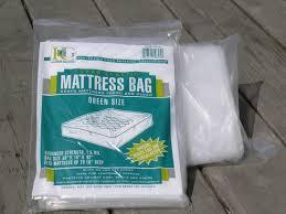 plastic mattress cover. Plastic Mattress Bag. QUEEN Size 3MIL. Cover M