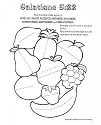 Fruits Of The Spirit Coloring Pages New Fruit Joy Gallery Printable