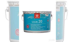 <b>Краска</b> в/<b>д</b> Tikkurila <b>Luja</b> 20 Puolihimmea белая А9л купить в ...