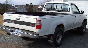 toyota t100 1993 toyota t100 4x4 rear view
