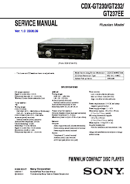 sony cdx gt23 service manual free download Sony Cdx Gt230 Wiring Diagram cdx gt230, cdx gt232, cdx gt237ee, cxs gt2313 service sony cdx gt210 wiring diagram