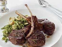 Rosemary Lamb Chops Recipe Lidia Bastianich Food Wine