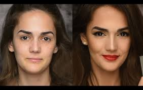 contouring before and after. contouring before and after || focusing on the nose