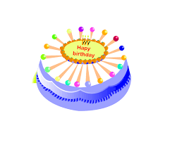 Happy Birthday Cake Png Vector Image Transparent Background