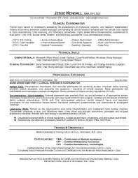 clinical resumes template within education coordinator resume - Safety Coordinator  Resume