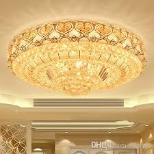 led ceiling chandeliers luxury noble gorgeous round crystal chandelier lights for hotel villa living room bedroom ceiling chandeliers dining room
