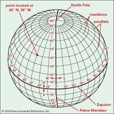 Latitude And Longitude Description Diagrams Britannica